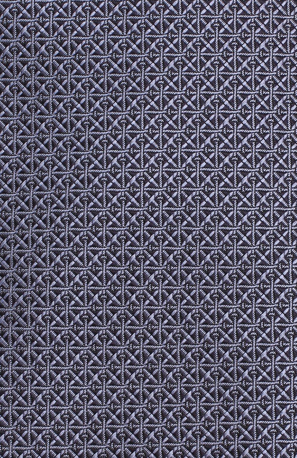 Мужской шелковый галстук BRIONI сиреневого цвета, арт. 062H00/08447 | Фото 3