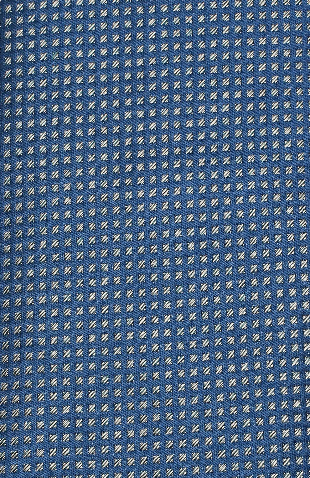 Мужской шелковый галстук BRIONI синего цвета, арт. 062H00/08440 | Фото 3