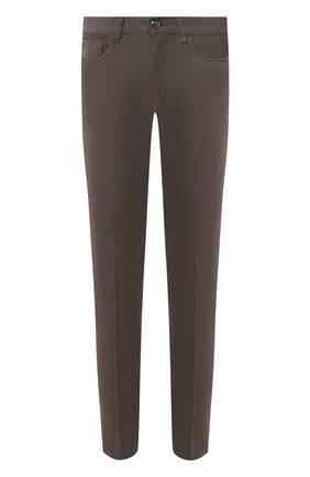 Мужские джинсы GIORGIO ARMANI коричневого цвета, арт. 6GSJ67/SN15Z | Фото 1