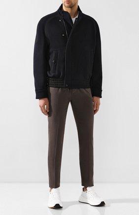 Мужские джинсы GIORGIO ARMANI коричневого цвета, арт. 6GSJ67/SN15Z | Фото 2