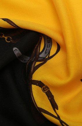 Мужской шарф из смеси кашемира и шелка RALPH LAUREN разноцветного цвета, арт. 791773353 | Фото 2
