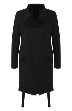 Пальто из смеси хлопка и шерсти | Фото №1
