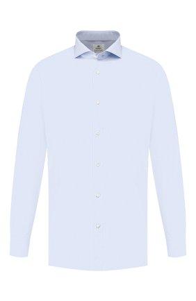 Мужская хлопковая сорочка LUIGI BORRELLI голубого цвета, арт. EV08/FELICE/TS8766 | Фото 1