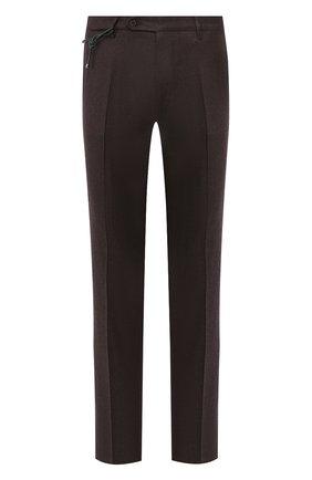 Мужской шерстяные брюки BERWICH темно-коричневого цвета, арт. SC/1 ALC/RD5470 | Фото 1