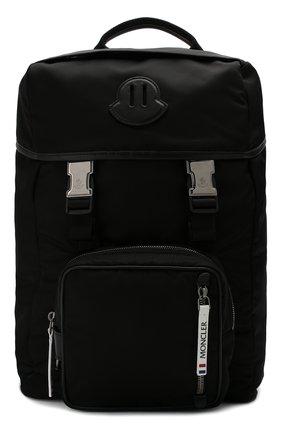 Мужской текстильный рюкзак chute MONCLER черного цвета, арт. E2-09A-00645-00-02S1E | Фото 1