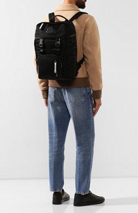 Мужской текстильный рюкзак chute MONCLER черного цвета, арт. E2-09A-00645-00-02S1E | Фото 2