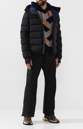 Мужская пуховая куртка MONCLER GRENOBLE черного цвета, арт. E2-097-41891-30-C0200   Фото 2