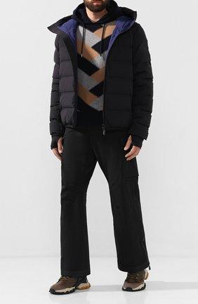 Мужской утепленные брюки MONCLER GRENOBLE черного цвета, арт. E2-097-11434-30-53066 | Фото 2