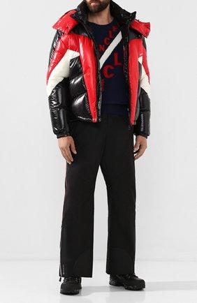 Мужской утепленные брюки MONCLER GRENOBLE черного цвета, арт. E2-097-11432-30-C0201 | Фото 2