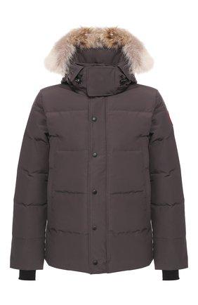 Мужская пуховая куртка wyndham CANADA GOOSE серого цвета, арт. 3808M | Фото 1