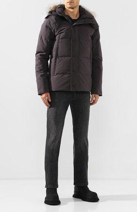 Мужская пуховая куртка wyndham CANADA GOOSE серого цвета, арт. 3808M | Фото 2