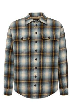 Мужская хлопковая рубашка DSQUARED2 разноцветного цвета, арт. S71DM0323/S52230 | Фото 1