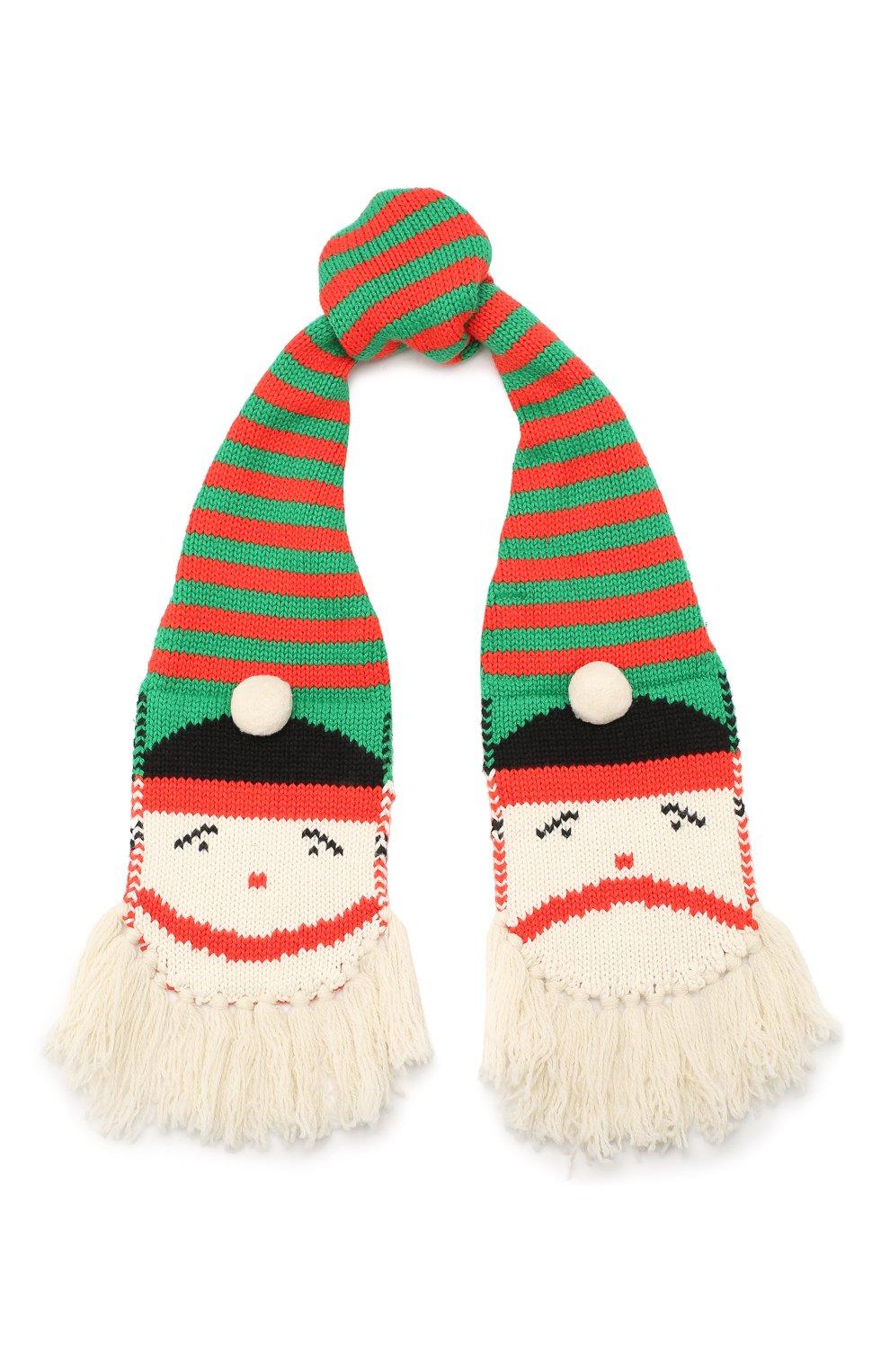 Комплект из шарфа и варежек | Фото №2