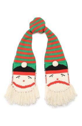 Детский комплект из шарфа и варежек STELLA MCCARTNEY разноцветного цвета, арт. 566400/SNM23 | Фото 2