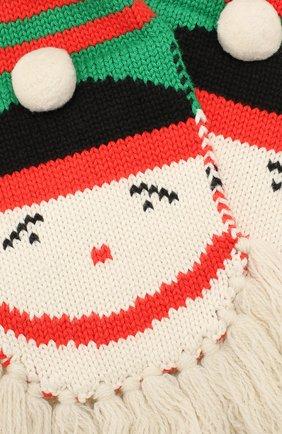 Комплект из шарфа и варежек | Фото №3