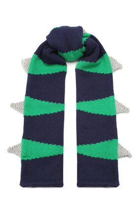 Детский комплект из шарфа и варежек STELLA MCCARTNEY разноцветного цвета, арт. 566399/SNM18 | Фото 2