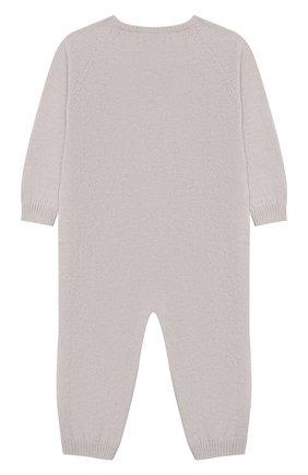 Детский комбинезон из шерсти и кашемира BABY T серого цвета, арт. 19AI141TB/18M-2A | Фото 2