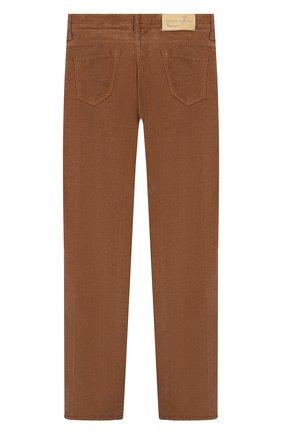 Детские хлопковые брюки JACOB COHEN бежевого цвета, арт. 688 J-20004   Фото 2