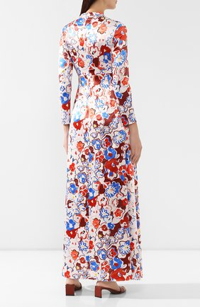 Женское платье с принтом VIKA GAZINSKAYA разноцветного цвета, арт. FW19-1364 | Фото 4