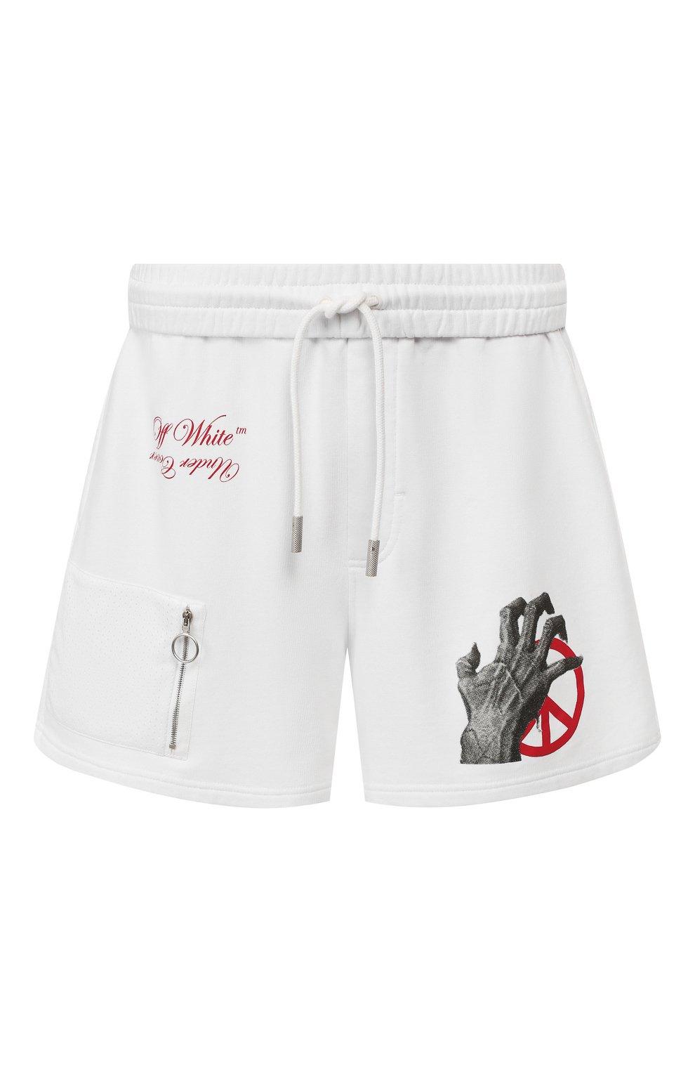 Хлопковые шорты Off-White X Undercover | Фото №1