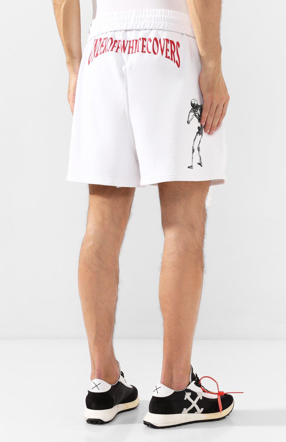 Хлопковые шорты Off-White X Undercover | Фото №4