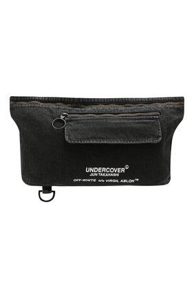 Текстильная поясная сумка Off-White X Undercover | Фото №1