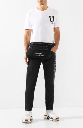 Текстильная поясная сумка Off-White X Undercover | Фото №2