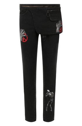 Комплект из джинсов и поясной сумки Off-White X Undercover | Фото №1