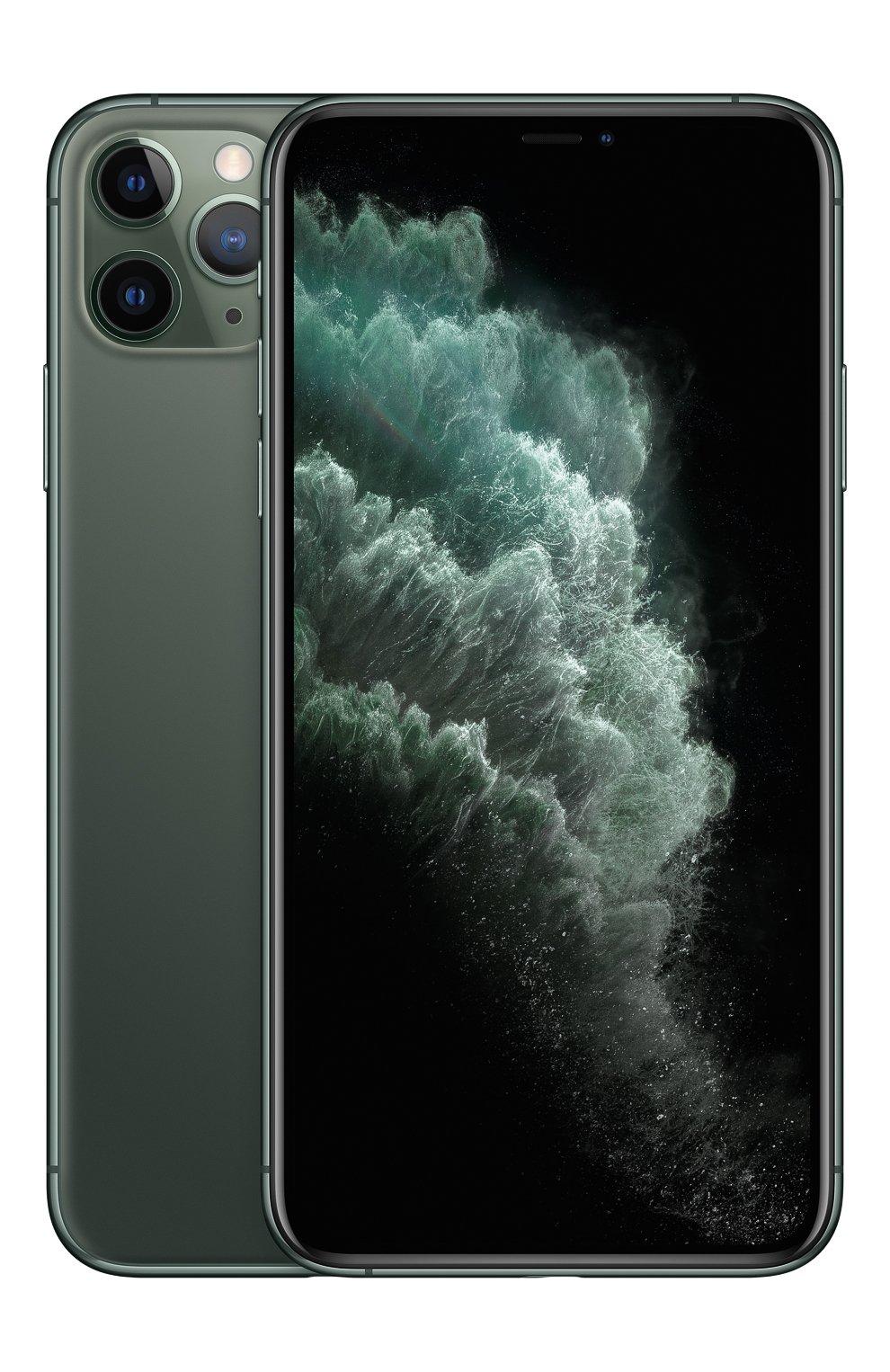 Мужской iphone 11 pro max 256gb midnight green APPLE  midnight green цвета, арт. MWHM2RU/A   Фото 1