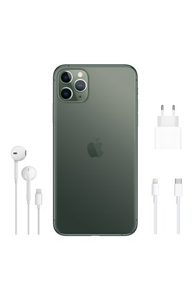 Мужской iphone 11 pro max 256gb midnight green APPLE  midnight green цвета, арт. MWHM2RU/A   Фото 4