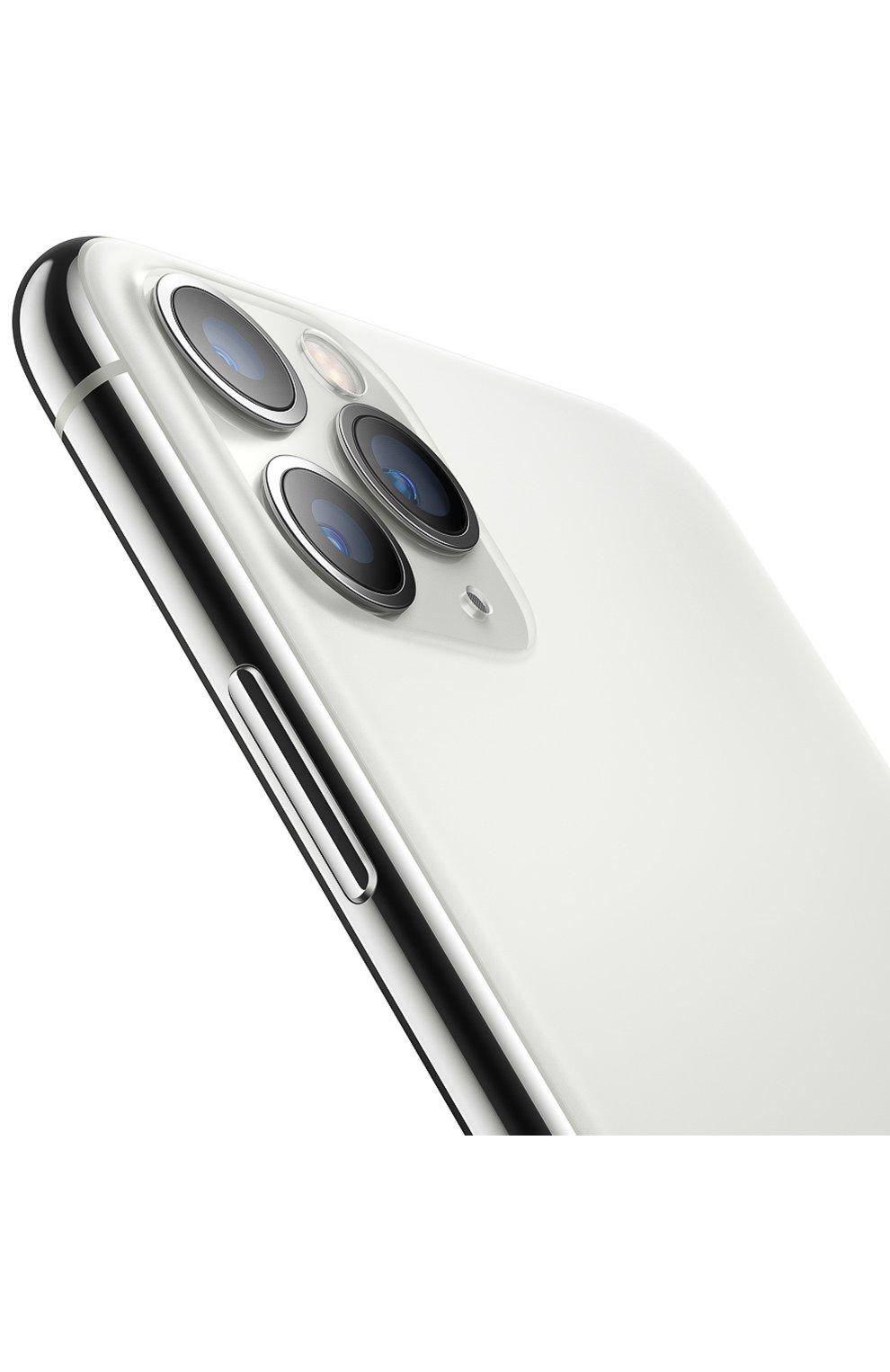 Мужской iphone 11 pro 256gb silver APPLE  silver цвета, арт. MWC82RU/A | Фото 3