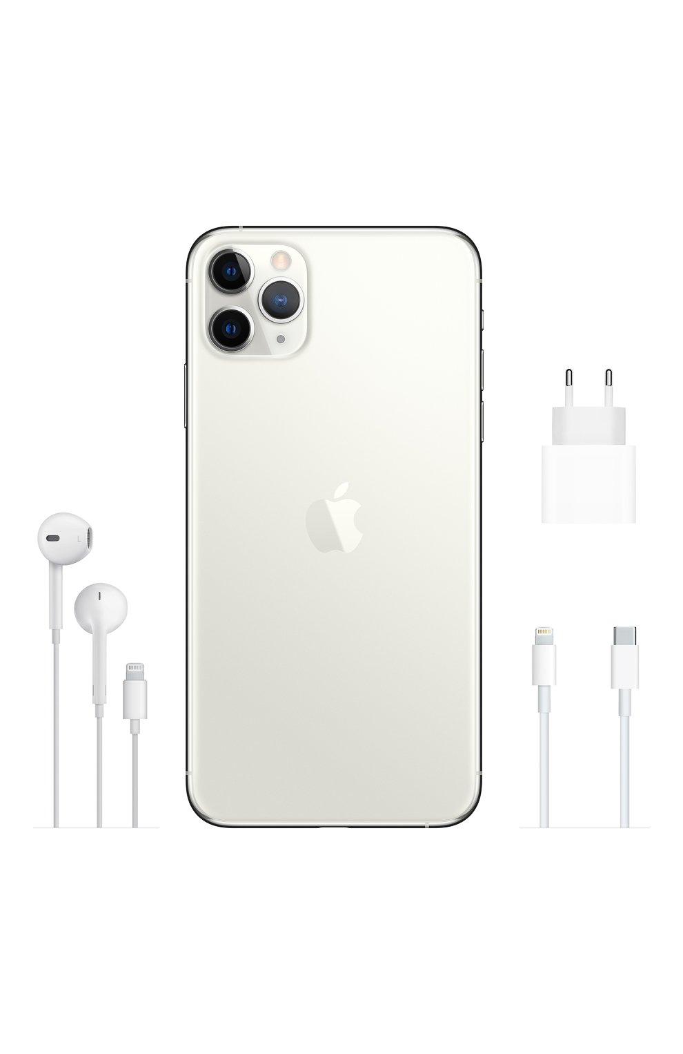 Мужской iphone 11 pro 256gb silver APPLE  silver цвета, арт. MWC82RU/A | Фото 4