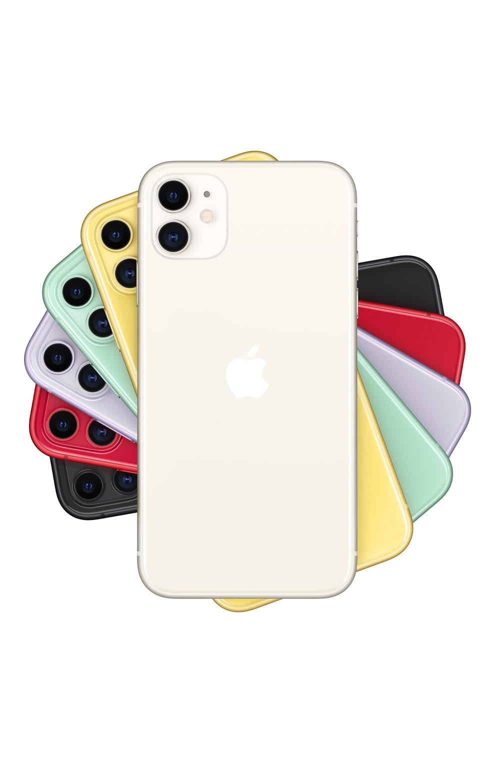 Мужской iphone 11 128gb white APPLE  white цвета, арт. MWM22RU/A | Фото 1
