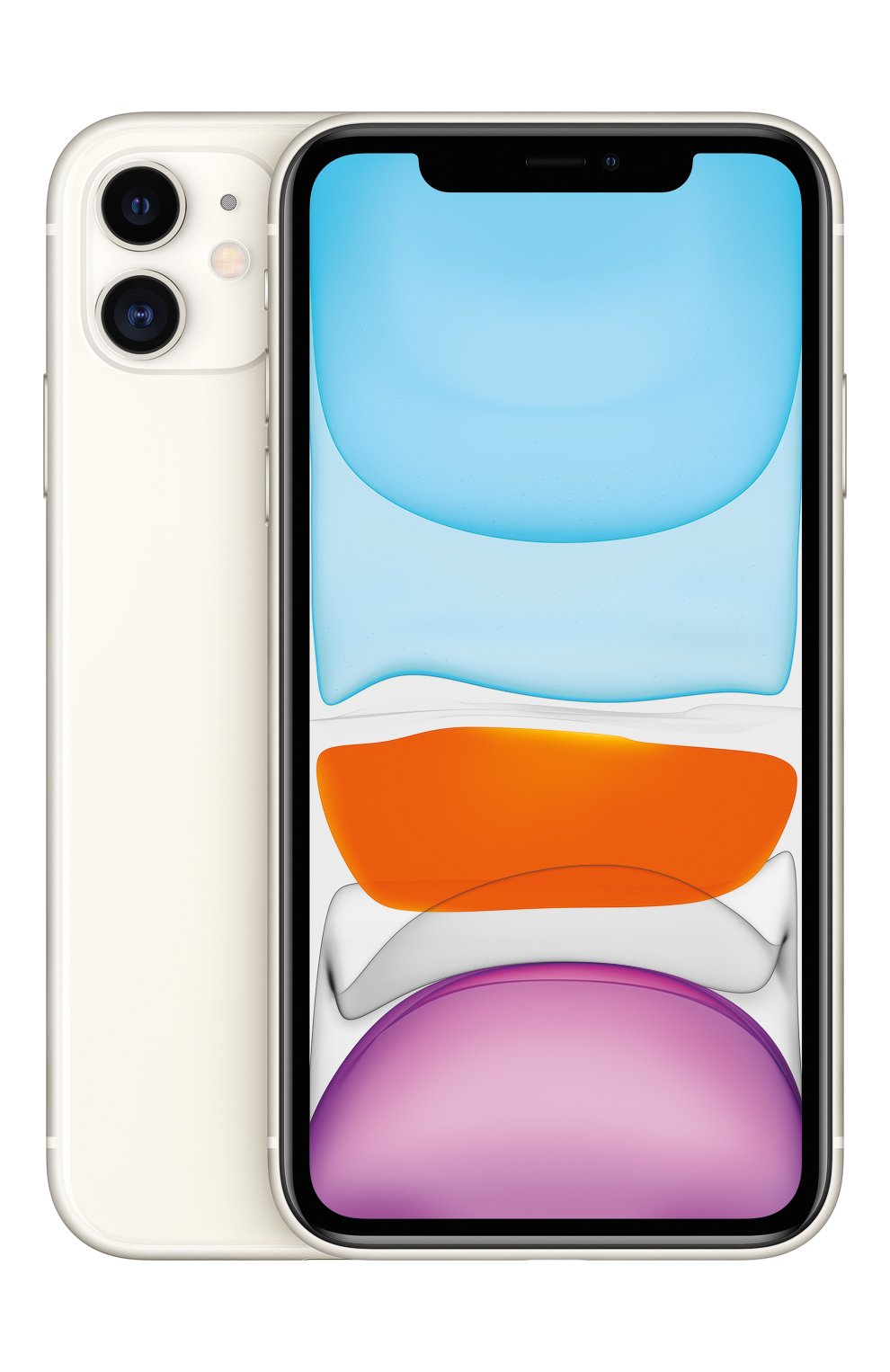 Мужской iphone 11 128gb white APPLE  white цвета, арт. MWM22RU/A | Фото 2