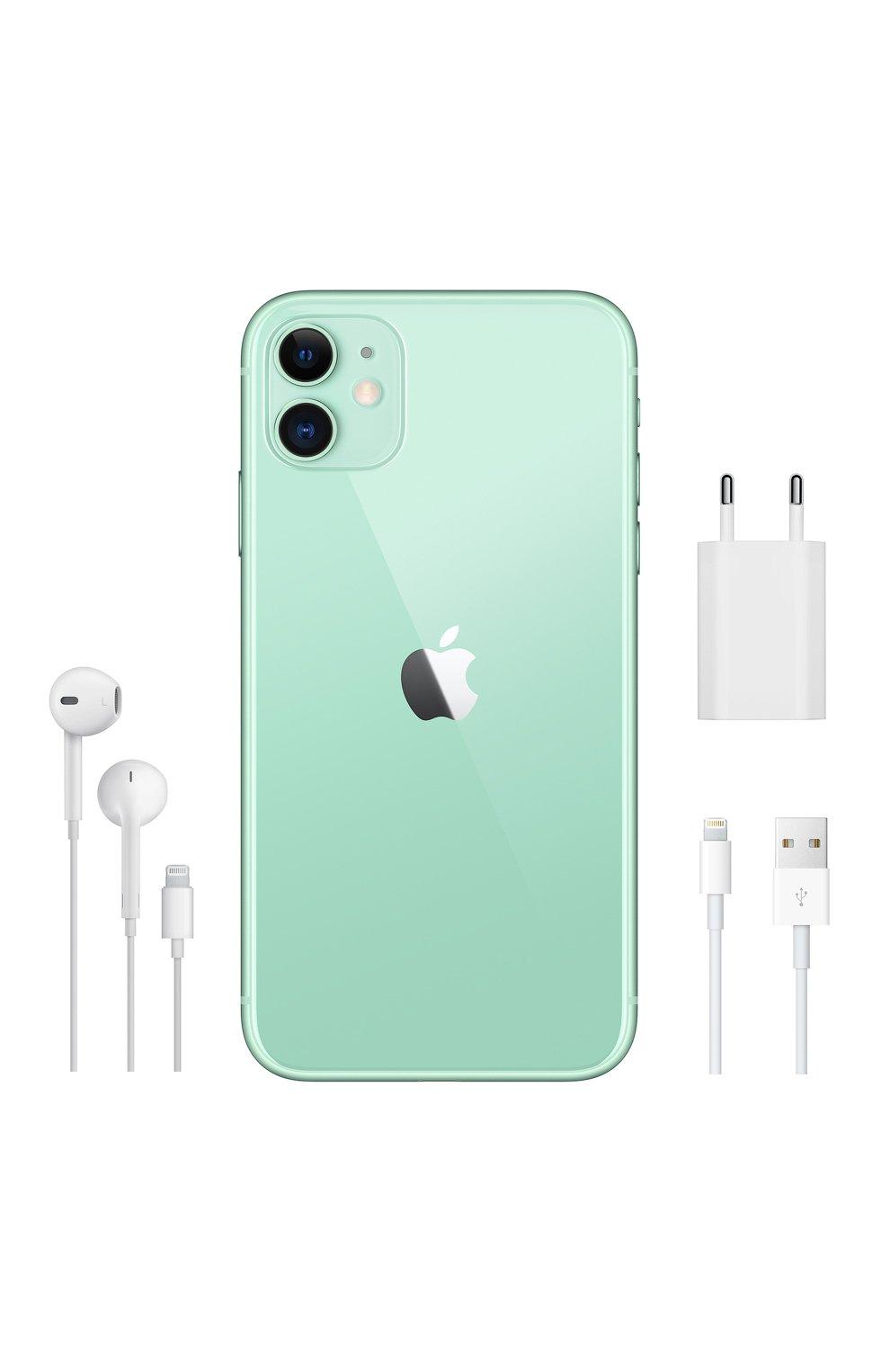 Мужской iphone 11 256gb green APPLE  green цвета, арт. MWMD2RU/A | Фото 5