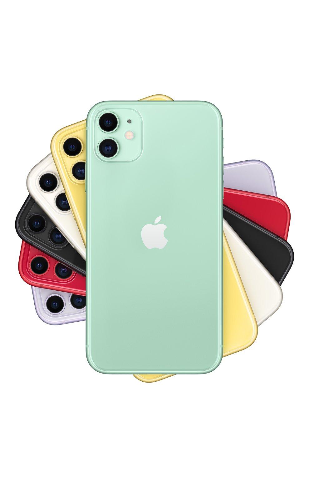 Мужской iphone 11 128gb green APPLE  green цвета, арт. MWM62RU/A   Фото 1