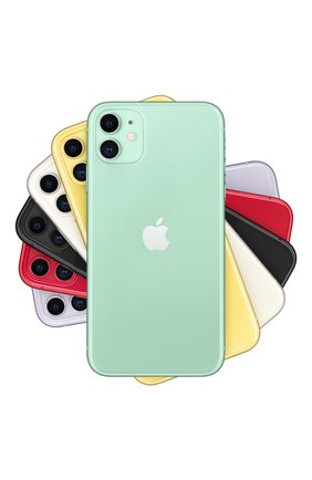 Мужской iphone 11 128gb green APPLE green цвета, арт. MWM62RU/A | Фото 1