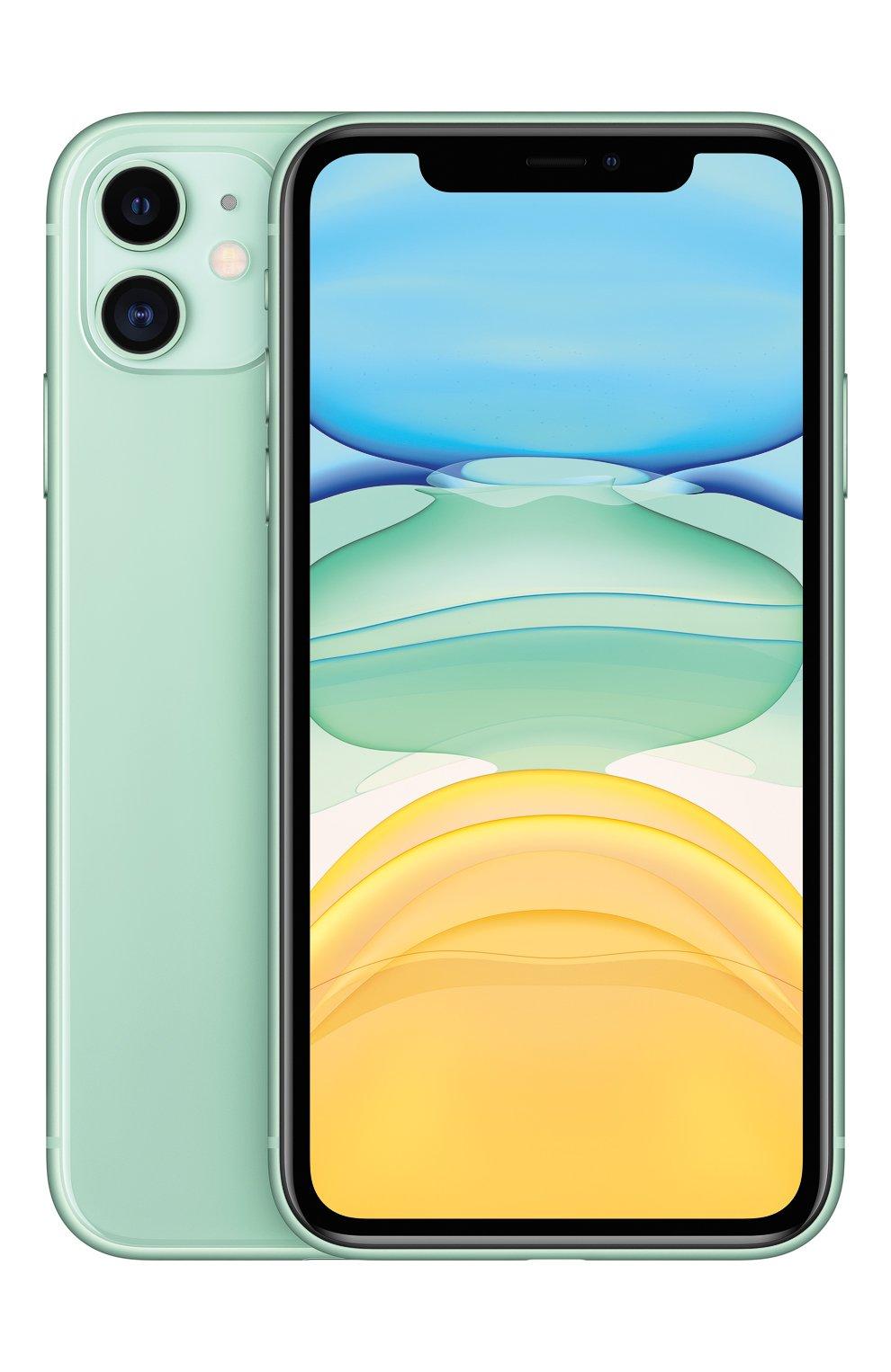 Мужской iphone 11 128gb green APPLE  green цвета, арт. MWM62RU/A   Фото 2