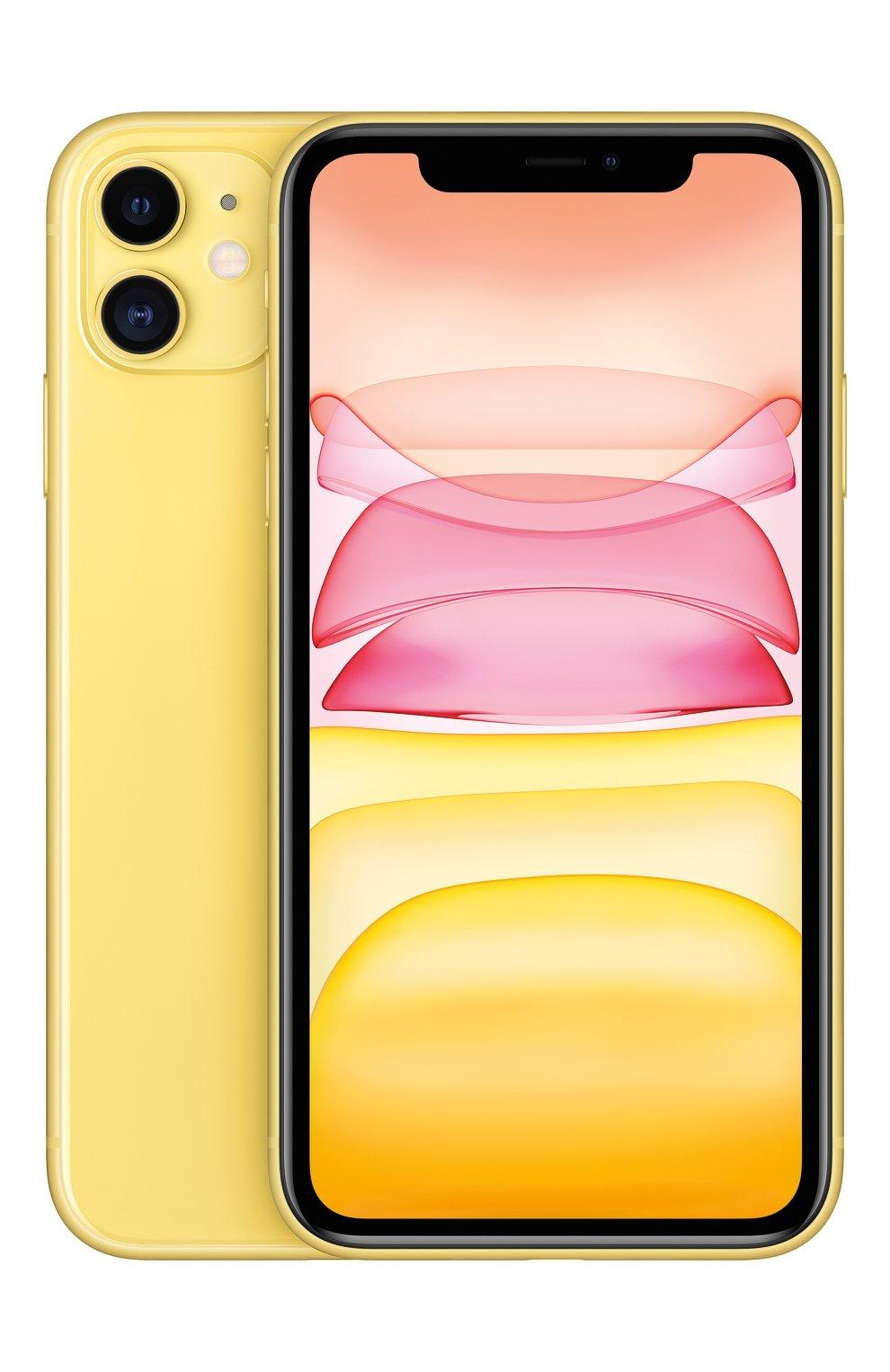 Мужской iphone 11 256gb yellow APPLE  yellow цвета, арт. MWMA2RU/A   Фото 2