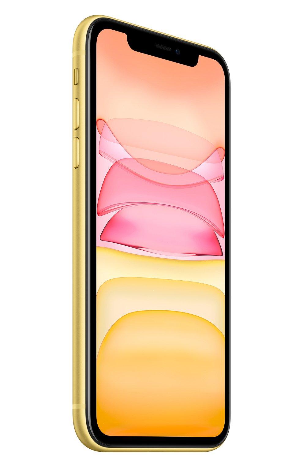 Мужской iphone 11 256gb yellow APPLE  yellow цвета, арт. MWMA2RU/A   Фото 3