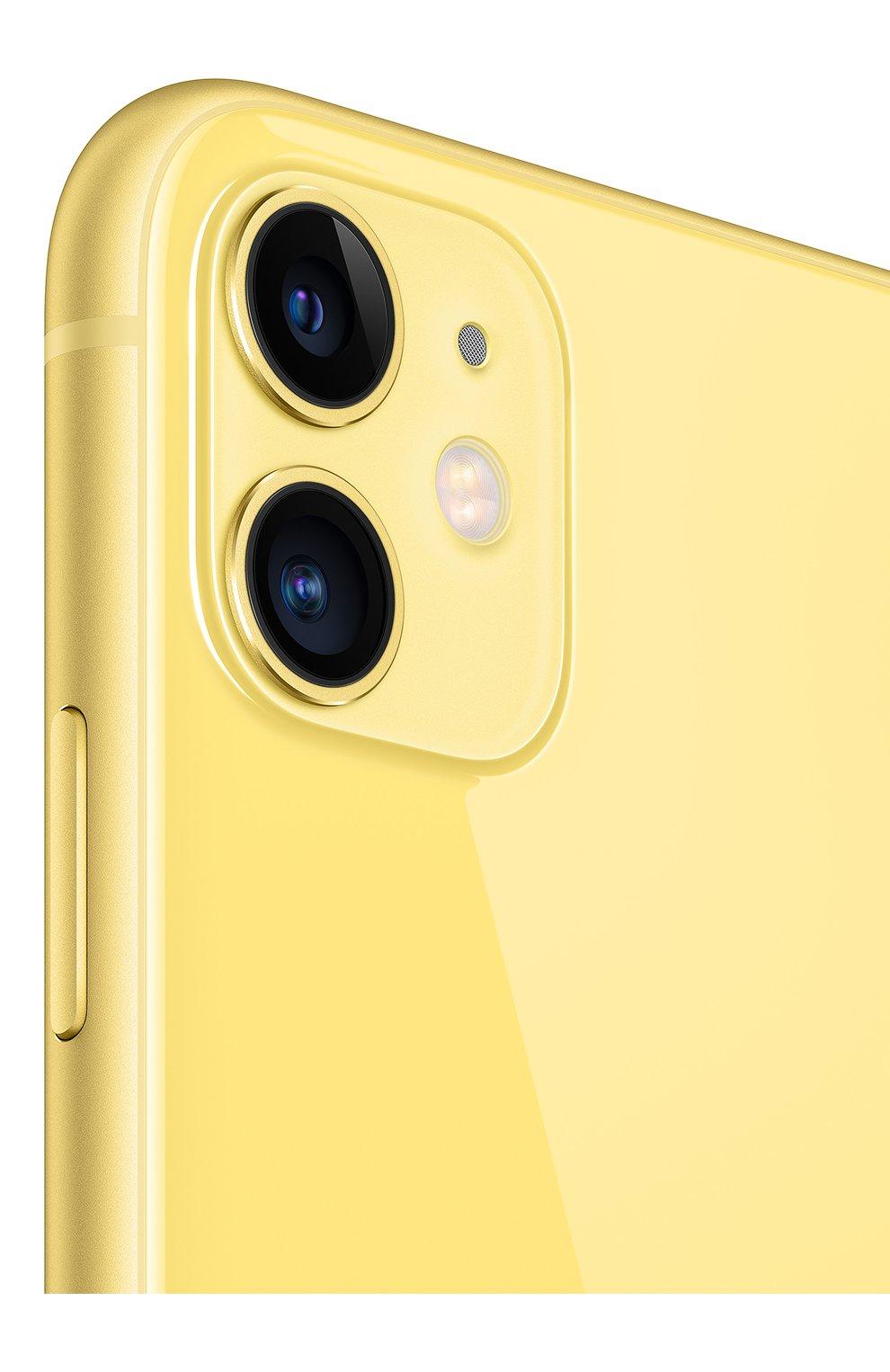 Мужской iphone 11 256gb yellow APPLE  yellow цвета, арт. MWMA2RU/A   Фото 4