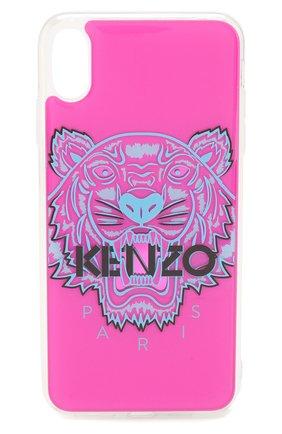 Мужской чехол для iphone xs max KENZO розового цвета, арт. F96C0KXSMTGR | Фото 1