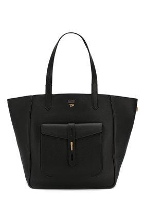 Женская сумка-тоут t twist medium TOM FORD черного цвета, арт. L1213T-LCL008   Фото 1