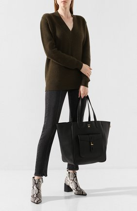 Женская сумка-тоут t twist medium TOM FORD черного цвета, арт. L1213T-LCL008   Фото 2