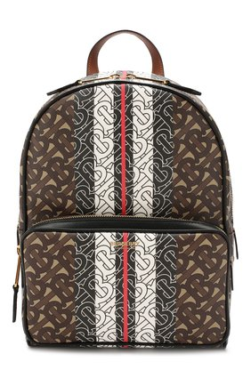 Женский рюкзак tb BURBERRY коричневого цвета, арт. 8019346 | Фото 1