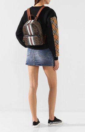 Женский рюкзак tb BURBERRY коричневого цвета, арт. 8019346 | Фото 2