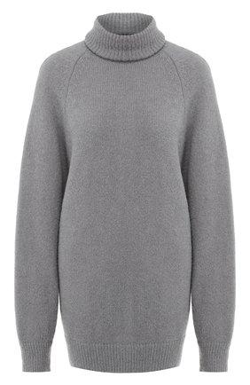 Женская шерстяной свитер DRIES VAN NOTEN серого цвета, арт. 192-11236-8714 | Фото 1
