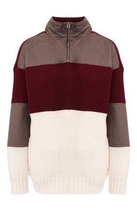 Женская кашемировый свитер GABRIELA HEARST бордового цвета, арт. 119915 A007 | Фото 1
