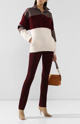 Женская кашемировый свитер GABRIELA HEARST бордового цвета, арт. 119915 A007 | Фото 2