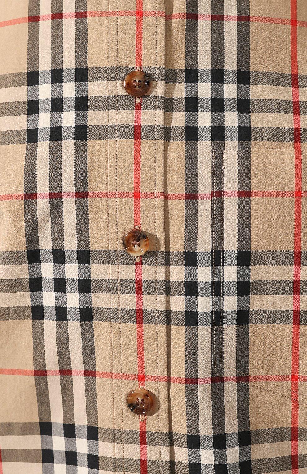 Хлопковая рубашка | Фото №5